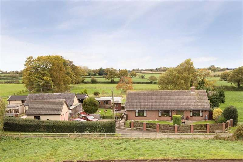 3 Bedrooms Bungalow for sale in Hollins Lane, Tilstock, SY13