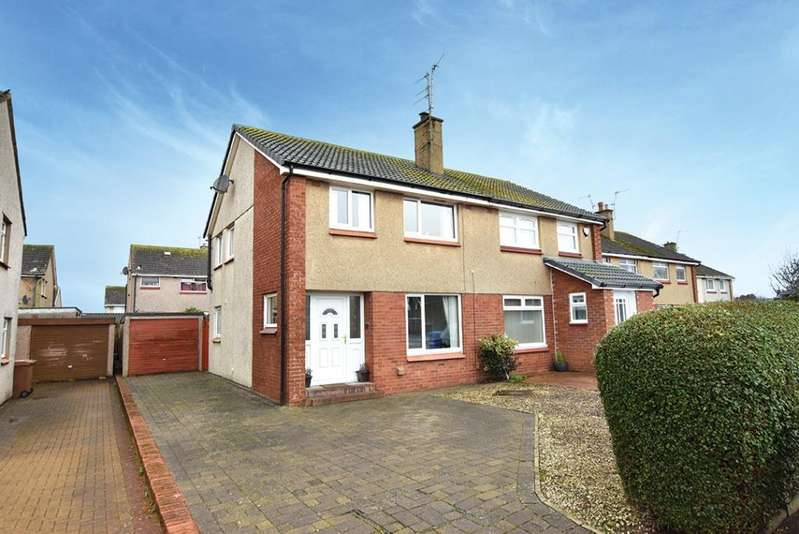 3 Bedrooms Semi-detached Villa House for sale in 21 Deveron Road, Troon, KA10 7ED
