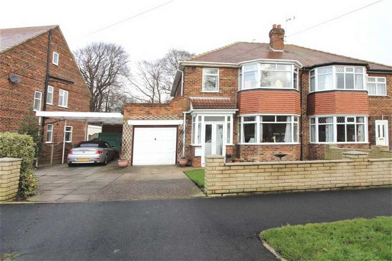 3 Bedrooms Semi Detached House for sale in Dene Road, Cottingham