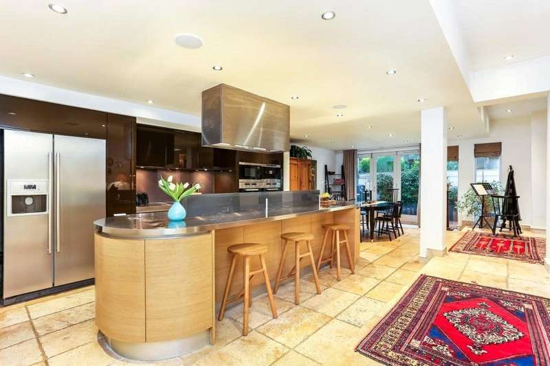 4 Bedrooms Semi Detached House for sale in Belsize Lane, Belsize Park, London, NW3