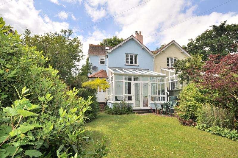 3 Bedrooms Semi Detached House for sale in Chilpark Cottages, Morebath, Tiverton, Devon, EX16