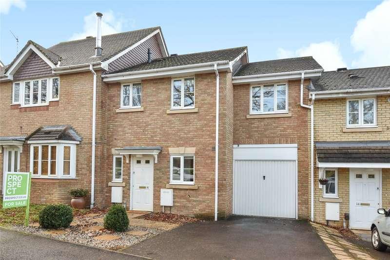 3 Bedrooms Terraced House for sale in Goddard Way, Warfield, Berkshire, RG42