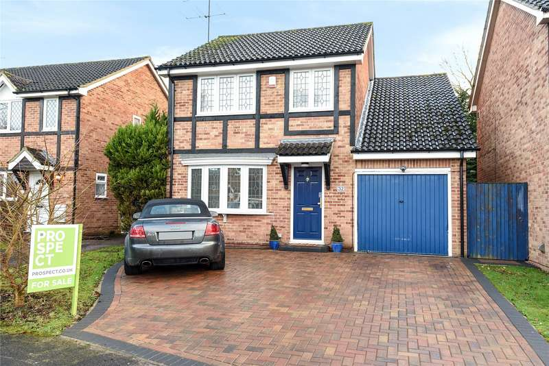 4 Bedrooms Detached House for sale in Sandstone Close, Winnersh, Wokingham, Berkshire, RG41