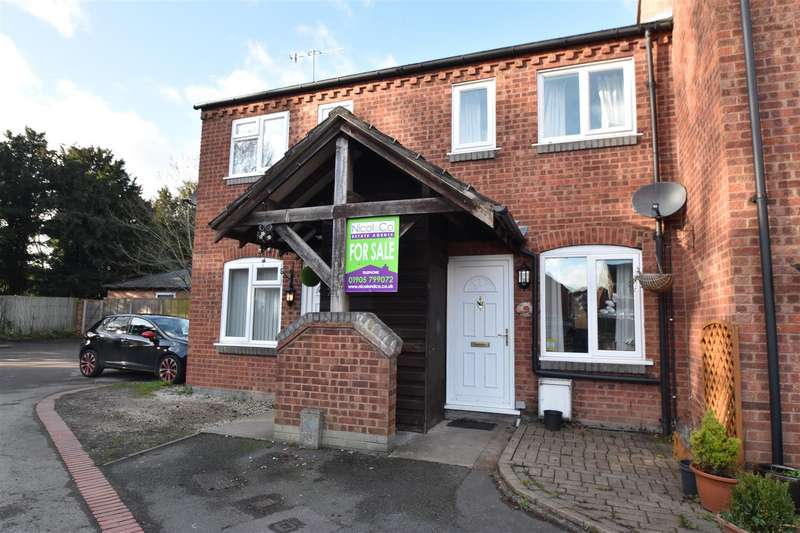 2 Bedrooms Terraced House for sale in School Road, Wychbold, Droitwich