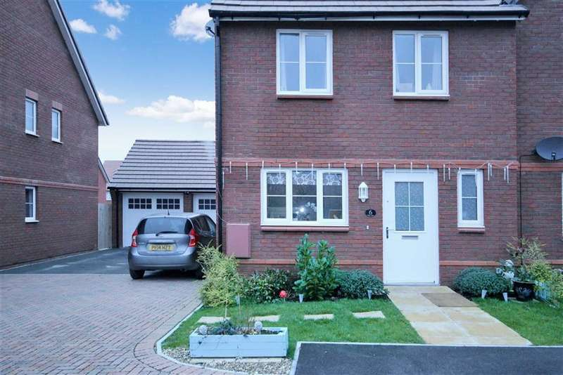 3 Bedrooms Semi Detached House for sale in Jebb Close, Tadpole Garden Village, Swindon