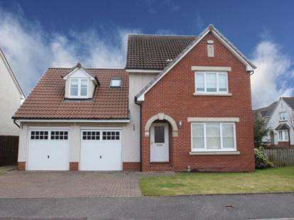 4 Bedrooms Detached House for sale in Rosewood Place, Drumpellier Lawns, Bargeddie, Glasgow