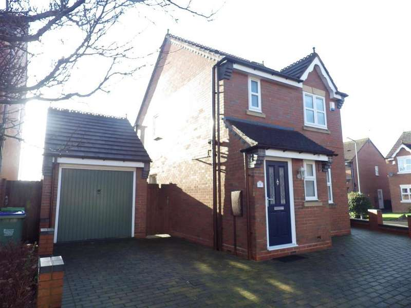 3 Bedrooms Detached House for sale in Woodhouse Way, Cradley Heath