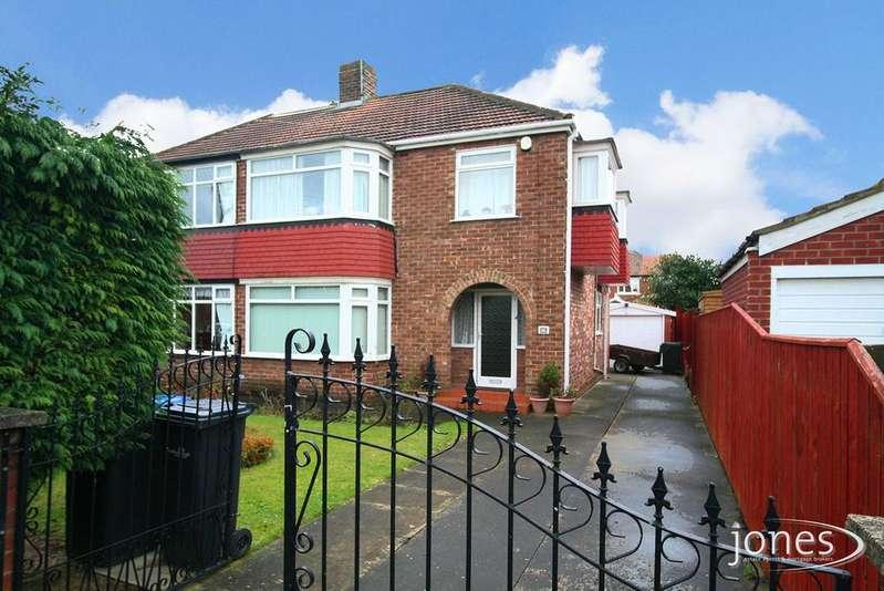 3 Bedrooms Semi Detached House for sale in Lunedale Avenue, Middlesbrough, TS5 7LA