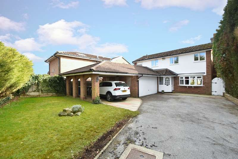 4 Bedrooms Detached House for sale in Meadow Croft, Whitefield, Manchester, M45