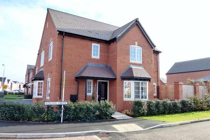 4 Bedrooms Detached House for sale in Keeling Drive, Barton Under Needwood