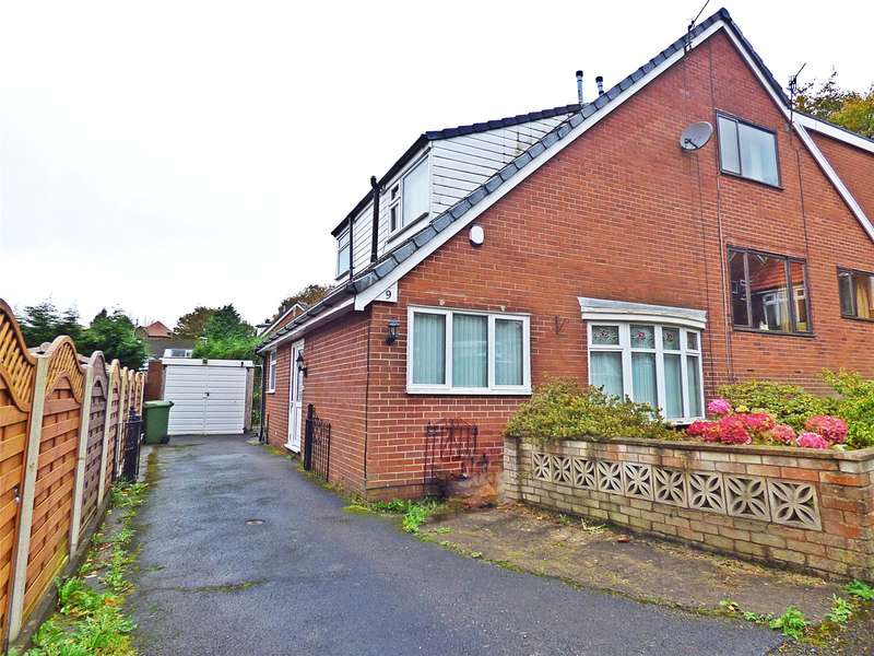 2 Bedrooms Semi Detached House for sale in Deepdale, Clarksfield, Oldham, Greater Manchester, OL4