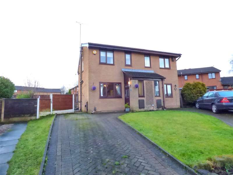 2 Bedrooms Semi Detached House for sale in Buckinghamshire Park Close, Shaw, Oldham, OL2
