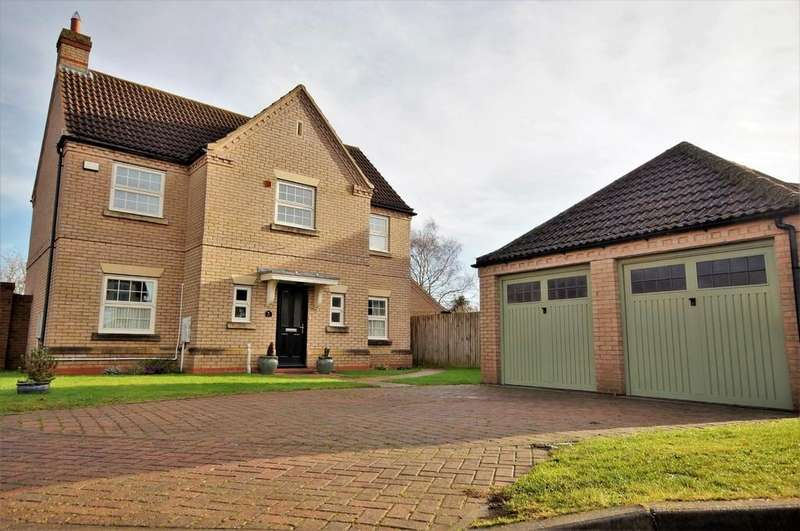 4 Bedrooms Detached House for sale in Woods End, Dunholme
