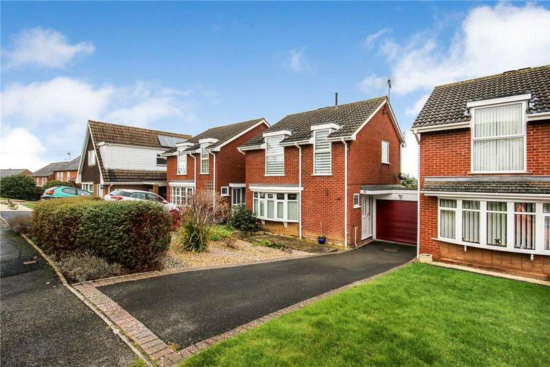 3 Bedrooms Link Detached House for sale in Ashdale Avenue, Pershore, Worcestershire, WR10