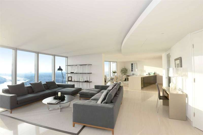 3 Bedrooms Apartment Flat for rent in The Tower, St. George Wharf, London, SW8