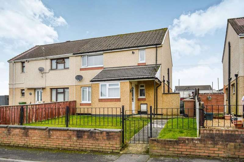 3 Bedrooms Semi Detached House for sale in Claerwen, Gelligaer