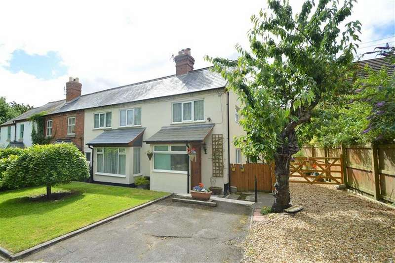 3 Bedrooms Semi Detached House for sale in Beechwood Drive, Off Ellesmere Road, Shrewsbury