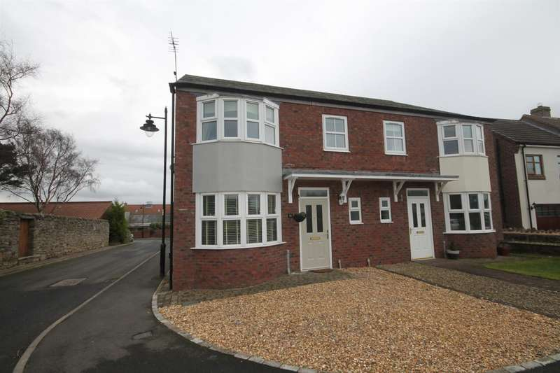 3 Bedrooms Semi Detached House for sale in Westerton, Bishop Auckland