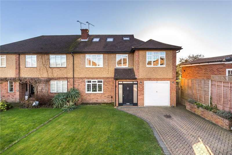5 Bedrooms Semi Detached House for sale in Packhorse Close, St. Albans, Hertfordshire