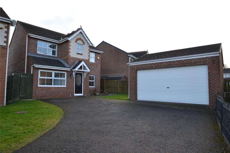 4 Bedrooms Detached House for sale in Maslin Grove, Peterlee, Co.Durham, SR8