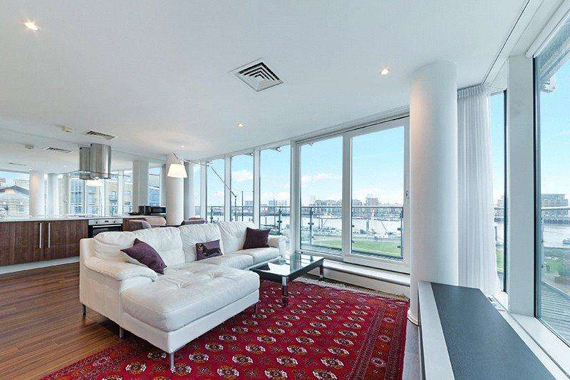 2 Bedrooms Flat for sale in Halcyon Wharf, 5 Wapping High Street, London, E1W
