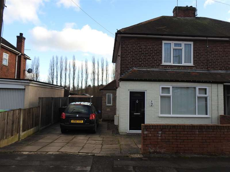 2 Bedrooms Semi Detached House for sale in Oakenhall, Hucknall, Nottinghm
