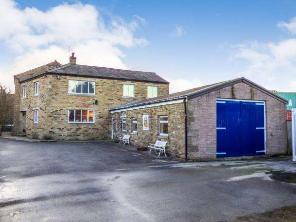 6 Bedrooms Detached House for sale in Hardings House, Hardings Lane, Cross Hills BD20 7AD