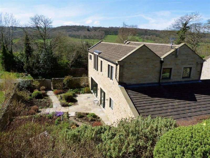 5 Bedrooms Detached House for sale in Ashlar House, Dean Fold, Kirkburton/Highburton, Huddersfield, HD8