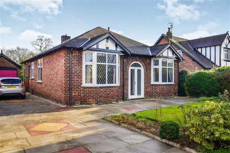 3 Bedrooms Detached Bungalow for sale in Fownhope Avenue, Sale, M33