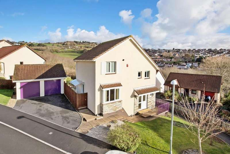 3 Bedrooms Detached House for sale in Valley Close, Teignmouth, TQ14 9UF