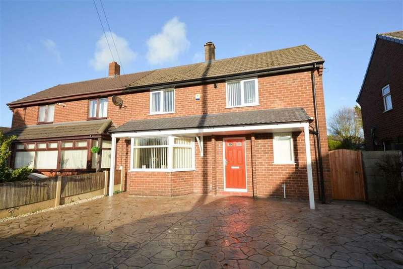2 Bedrooms Semi Detached House for sale in Langdale Avenue, Golborne, Warrington, WA3
