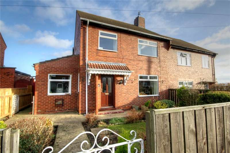 3 Bedrooms Semi Detached House for sale in Cedar Gardens, Crook, County Durham, DL15