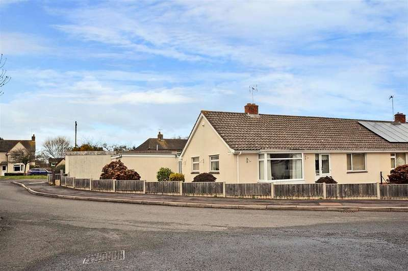 2 Bedrooms Bungalow for sale in Southwell Close, Trull