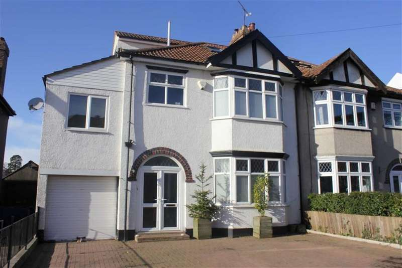 5 Bedrooms Semi Detached House for sale in Wimbledon Road, Henleaze, Bristol