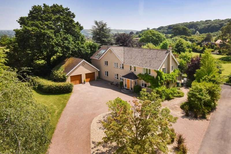 5 Bedrooms Detached House for sale in Superb rural spot in Winscombe