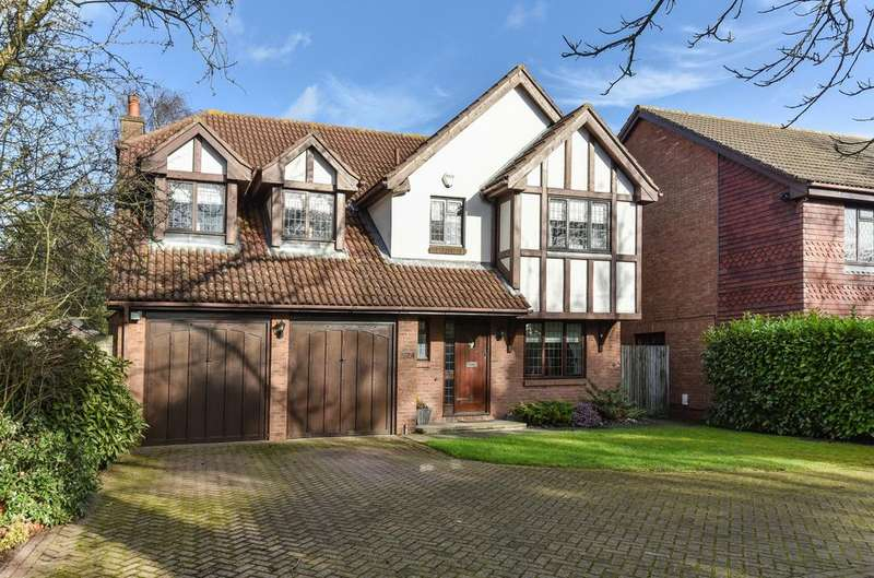 5 Bedrooms Detached House for sale in Leesons Hill BR7