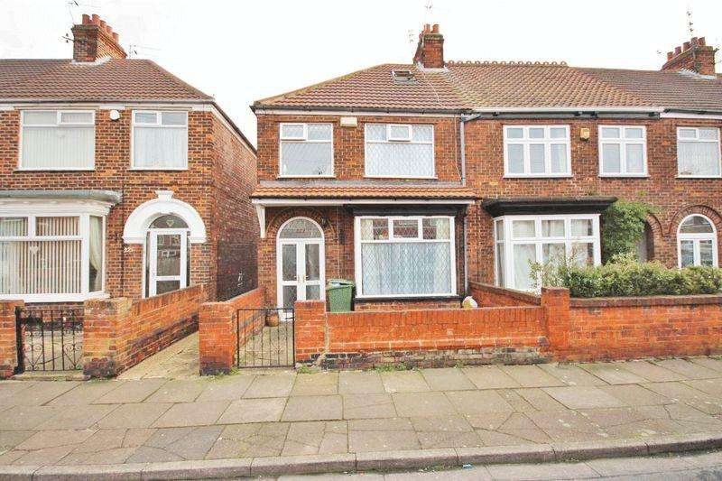 3 Bedrooms End Of Terrace House for sale in DAUBNEY STREET, CLEETHORPES