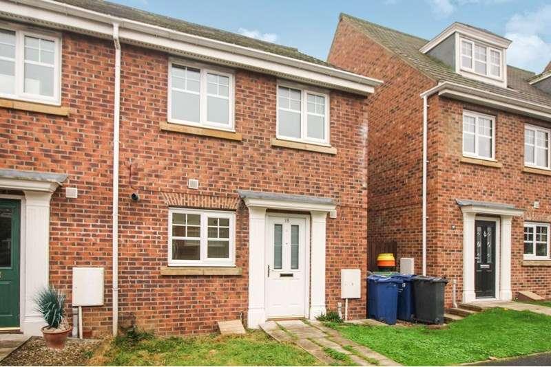 3 Bedrooms Property for sale in Gowan Court, Jarrow, Jarrow, Tyne and Wear, NE32 3PE