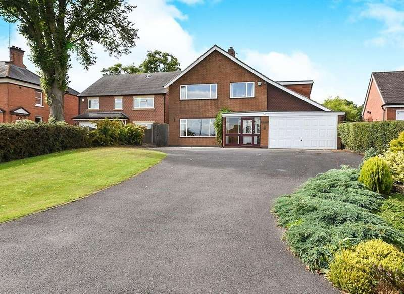 5 Bedrooms Detached House for sale in Anslow Lane, Rolleston On Dove