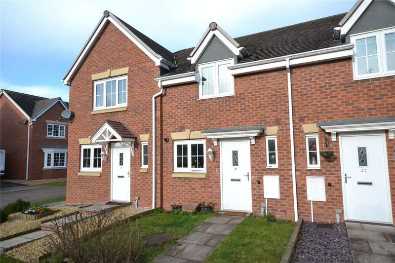 2 Bedrooms Terraced House for sale in 39 Highlander Drive, Donnington, Telford, Shropshire, TF2