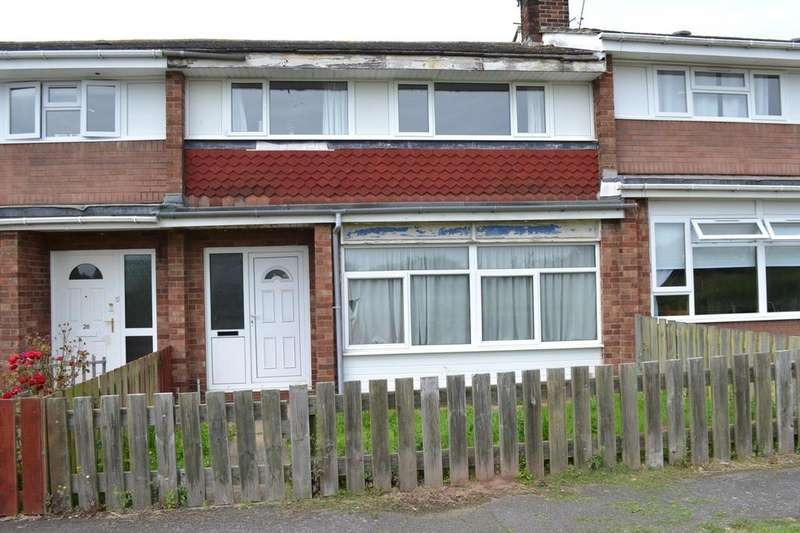 3 Bedrooms Terraced House for sale in Dunstall Walk, Gainsborough, Lincolnshire, DN21
