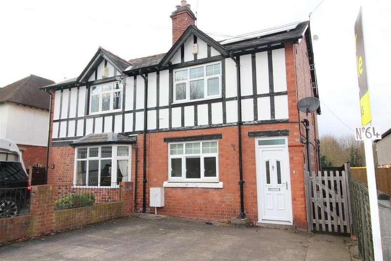 4 Bedrooms Semi Detached House for sale in Longden Road, Shrewsbury