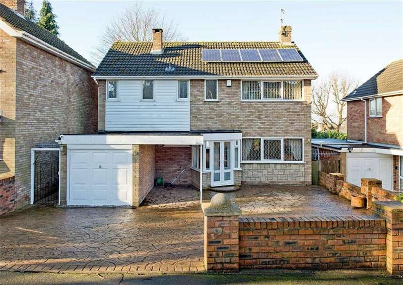 4 Bedrooms Detached House for sale in 10, Marlbrook Drive, Penn, Wolverhampton, West Midlands, WV4