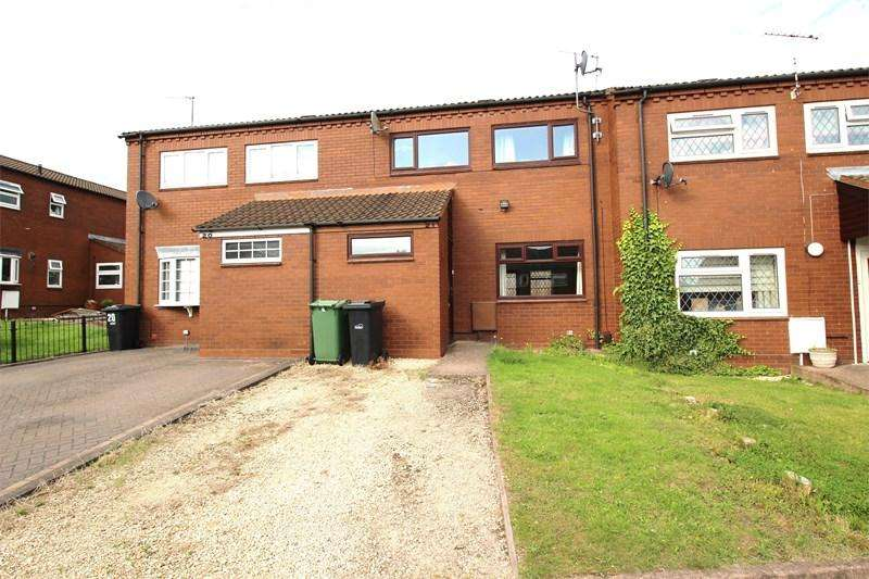 3 Bedrooms Terraced House for sale in Dean Close, STOURBRIDGE