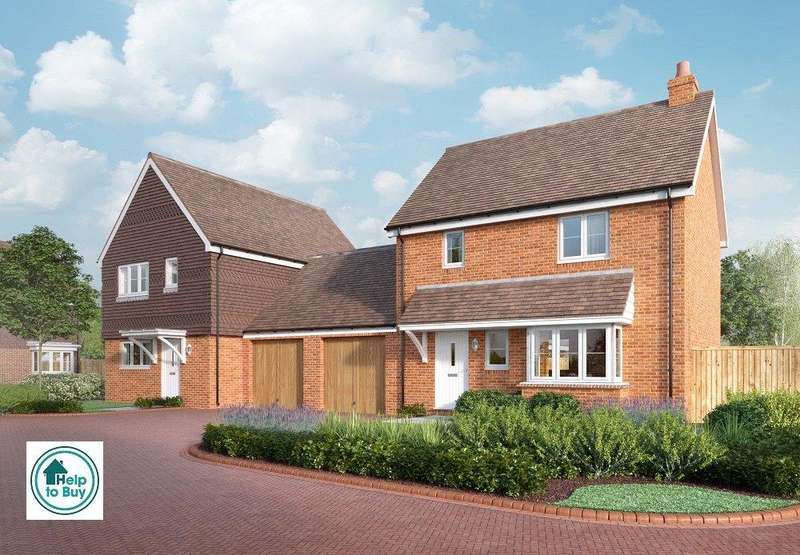 2 Bedrooms Link Detached House for sale in 27 Waters Reach, Lower High Street, Wadhurst, East Sussex, TN5