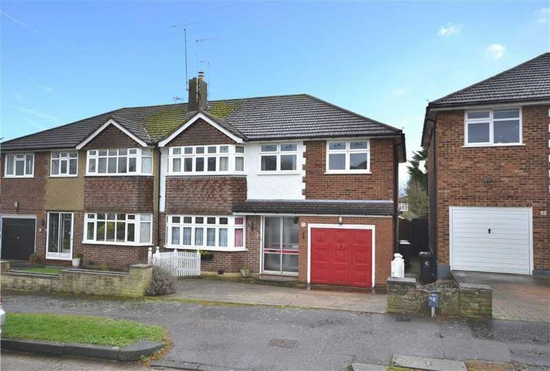 4 Bedrooms Semi Detached House for sale in Purlieu Way, Theydon Bois, Essex, CM16