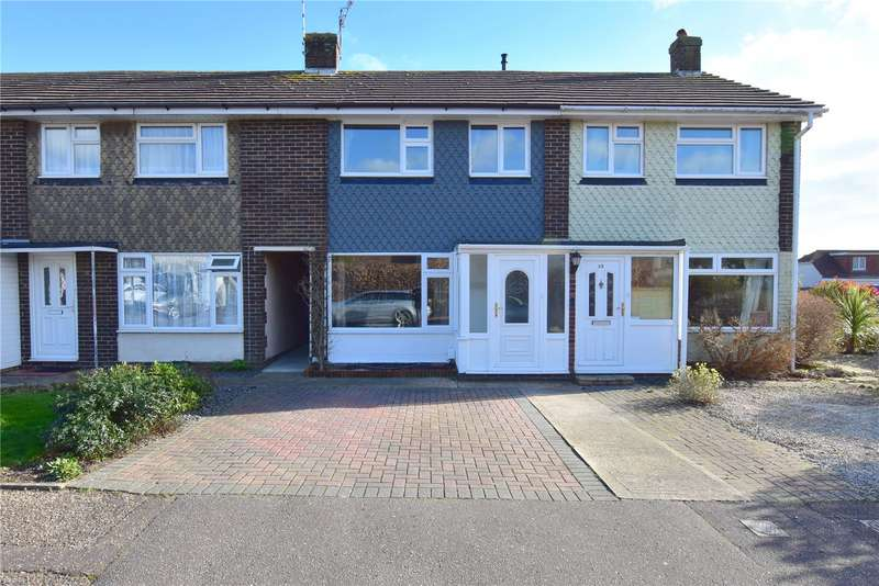 3 Bedrooms Terraced House for sale in The Martlets, Sompting, West Sussex, BN15
