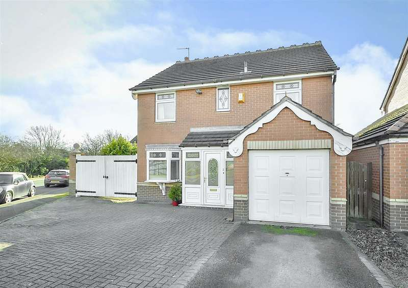 4 Bedrooms Detached House for sale in Chester Green, Toton