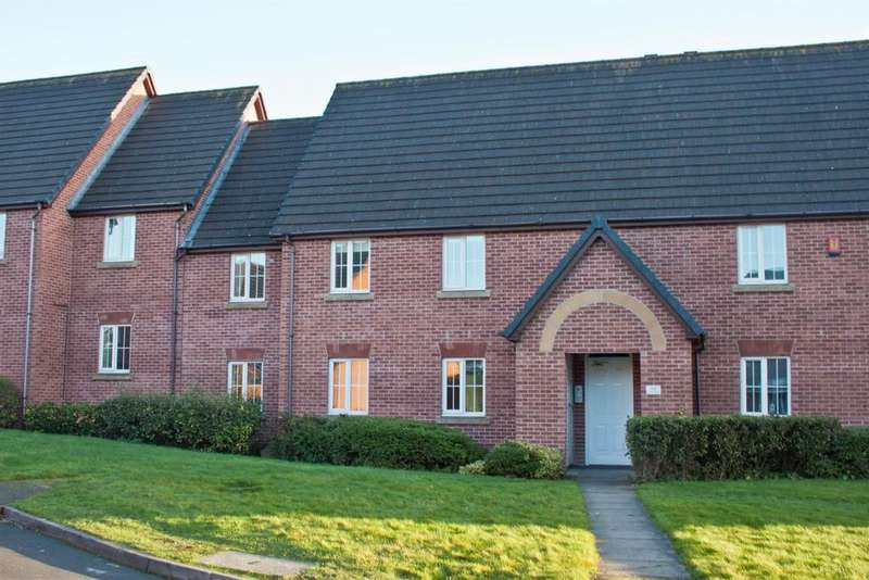 2 Bedrooms Flat for sale in Silverdale Drive, Burntwood, Burntwood , WS7 3UY