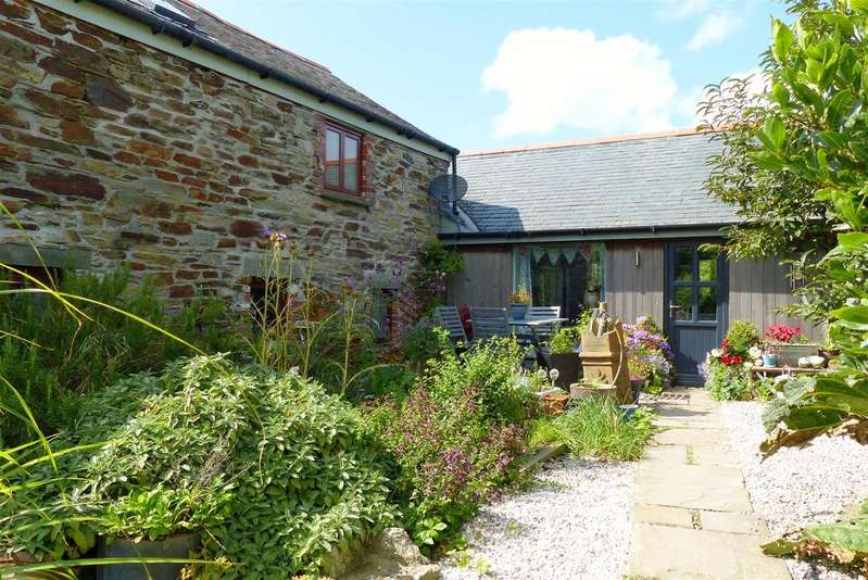 4 Bedrooms Barn Conversion Character Property for sale in Reskivers, Roseland Peninsula